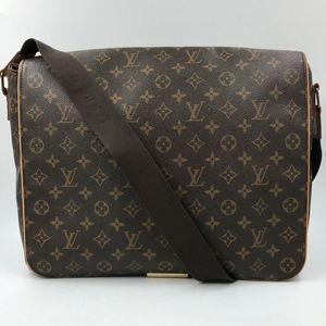 Authentic Louis Vuitton Abbesses Messenger Bag